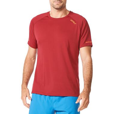 T-Shirt 2XU AERO Manches Courtes Rouge 2021